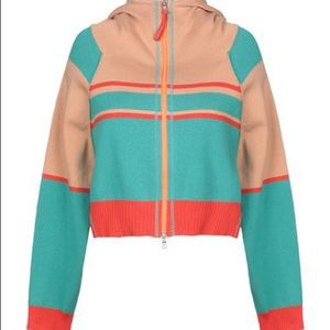 Free People Zip-Up Hooded Sweater